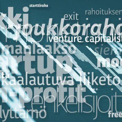 Taloussanastoa.