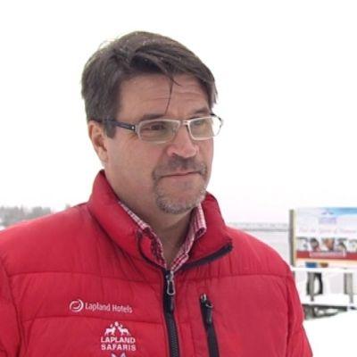 Lapin Safarit toimitusjohtaja Jyrki Niva Rovaniemi marraskuus 2015