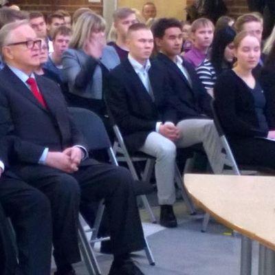 Ahtisaari-päivät Rovaniemellä 12.11.2015