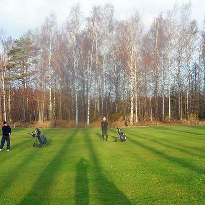Golfkenttä.