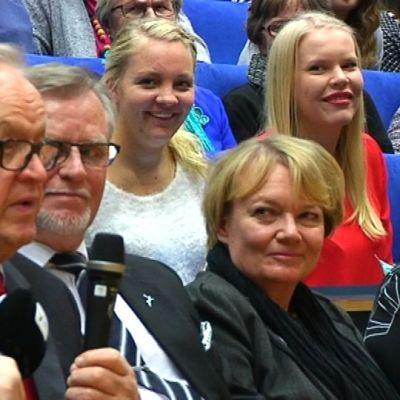 Ahtisaari-päivä Rovaniemellä.