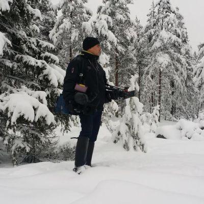 Yle Lapin kuvaaja Jarmo Honkanen