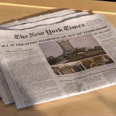 The New York Timesin pääkirjoitus.