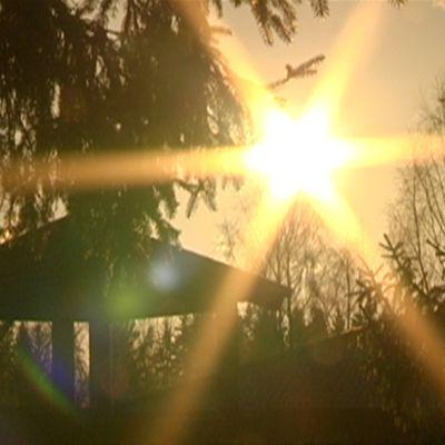 aurinko paistaa