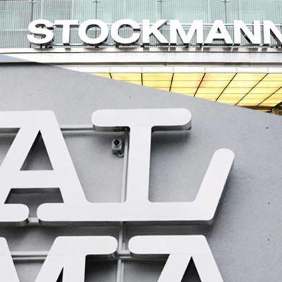 Stockmannin ja Alma Median logot