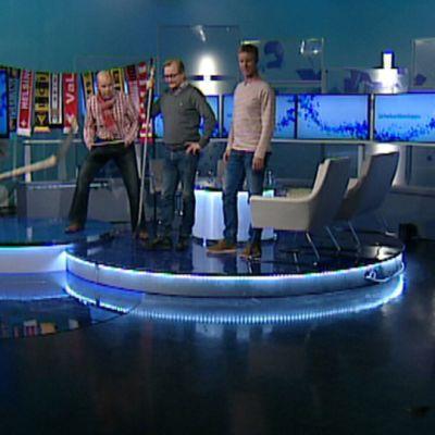 J-P Siili, Kaj Kunnas, Janne Reinikainen ja Mikko Ilonen