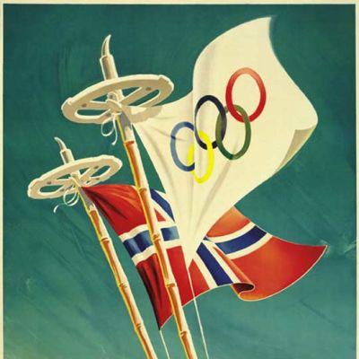 Oslon vuoden 1952 juliste.