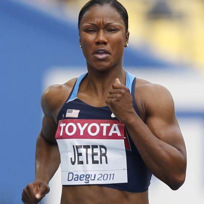 Carmelita Jeter.