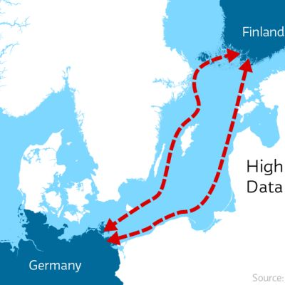 merikaapeli kartalla