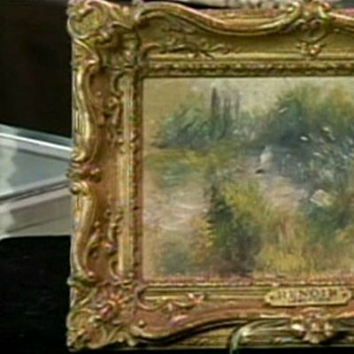 Renoirin kateissa ollut maalaus löytyi kirpputorilta Yhdysvalloissa.