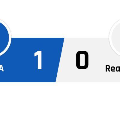 TsSKA - Real Madrid 1-0