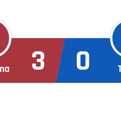 AS Roma - TsSKA Moskova 3-0