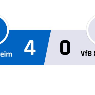 Hoffenheim - Stuttgart 4-0