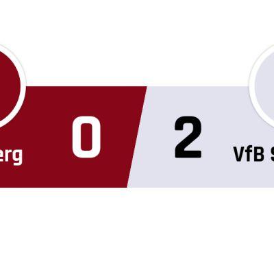 Nürnberg - Stuttgart 0-2