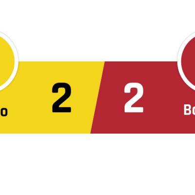 Chievo - Bologna 2-2