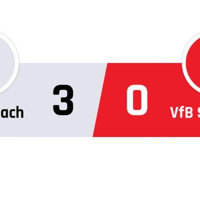 Mönchengladbach - Stuttgart 3-0