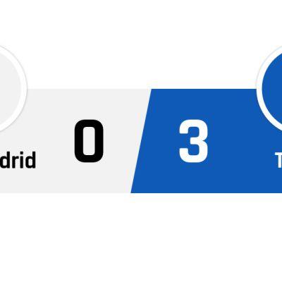 Real Madrid - TsSKA Moskova 0-3