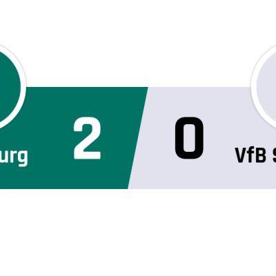Wolfsburg - Stuttgart 2-0
