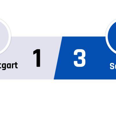 Stuttgart - Schalke 1-3