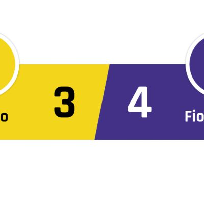 Chievo - Fiorentina 3-4