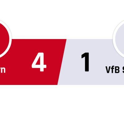 Bayern München - Stuttgart 4-1