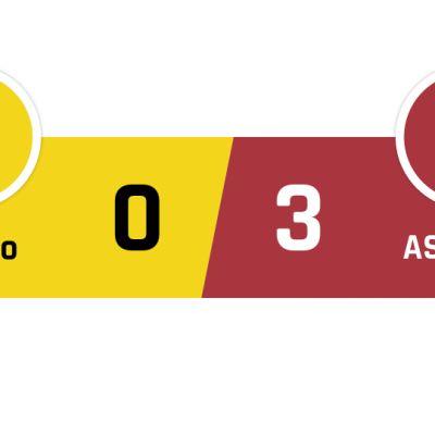 Chievo - Roma 0-3
