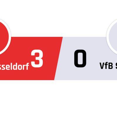 Fortuna Düsseldorf - Stuttgart 3-0