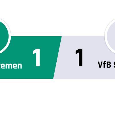 Werder Bremen - Stuttgart 1-1