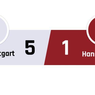 Stuttgart - Hannover 5-1