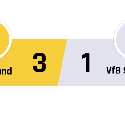 Dortmund - Stuttgart 3-1