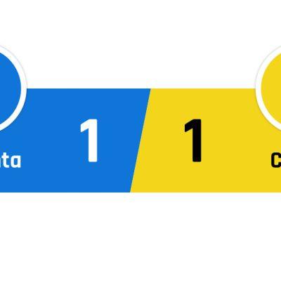 Atalanta - Chievo 1-1
