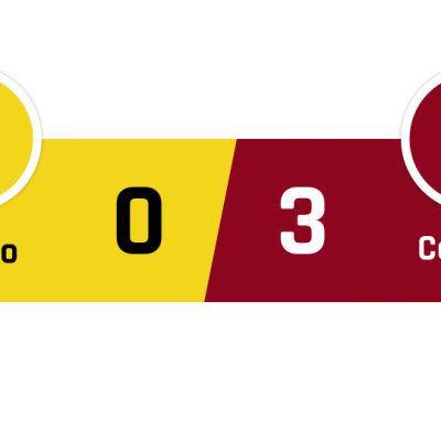 Chievo - Cagliari 0-3