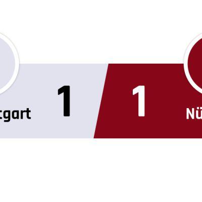 Stuttgart - Nürnberg 1-1