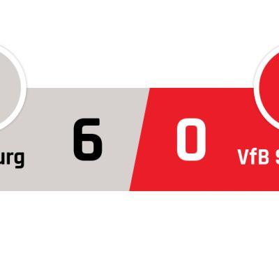 Ausburg - Stuttgart 6-0