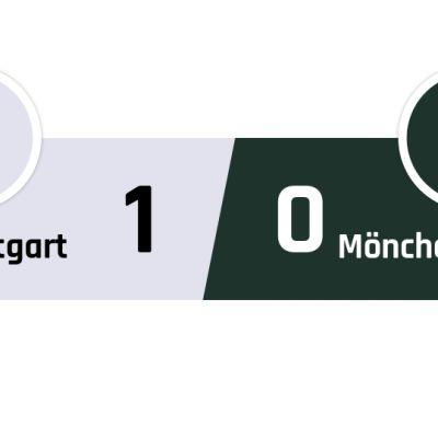 Stuttgart - Mönchengladbach 1-0
