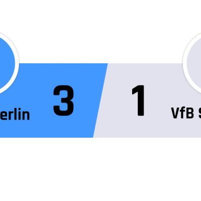 Hertha Berlin - Stuttgart 3-1
