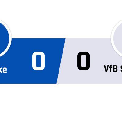 Schalke - Stuttgart 0-0