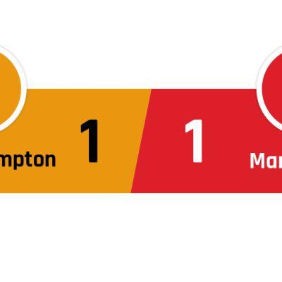 Wolverhampton - Manchester United 1-1
