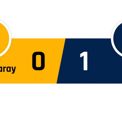 Galatasaray - PSG 0-1