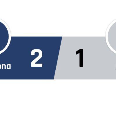 Barcelona - Inter 2-1