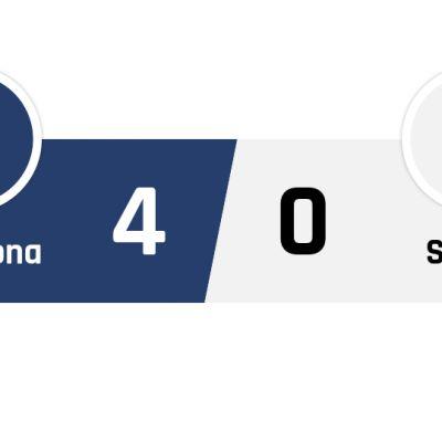 Barcelona - Sevilla 4-0