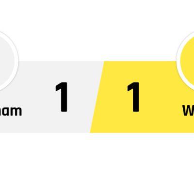 Tottenham - Watford 1-1