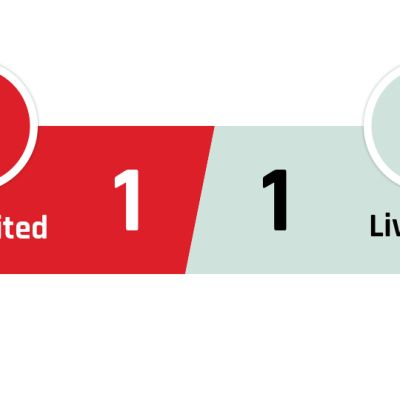 Manchester United - Liverpool 1-1