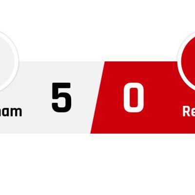 Tottenham - Red Star Belgrad 5-0