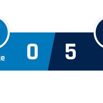 Club Brugge - PSG 0-5