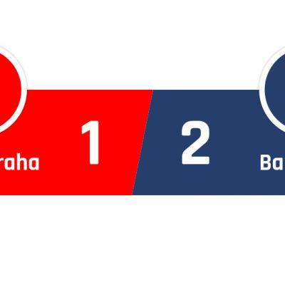 Slavia Praha - Barcelona 1-2