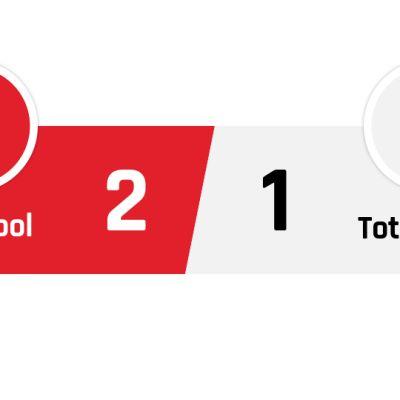 Liverpool - Tottenham 2-1