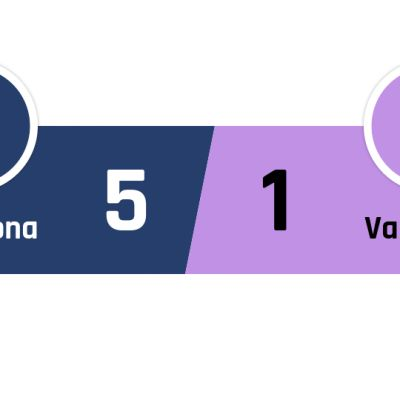 Barcelona - Valladolid 5-1