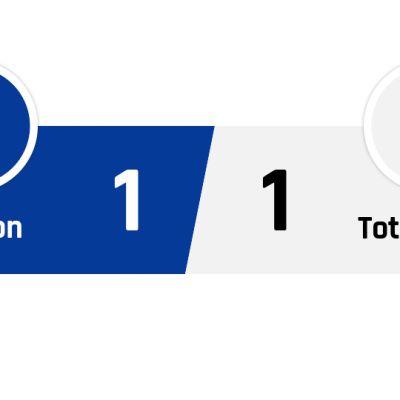 Everton - Tottenham 1-1