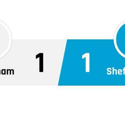 Tottenham - Sheffield United 1-1